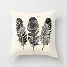 Feather Eagle Throw Pillow