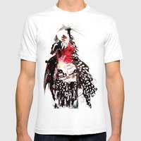 Bald Mens Fitted Tee White SMALL