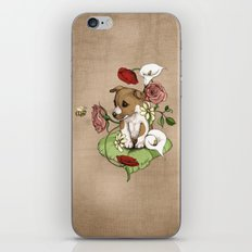 Puppy Posie iPhone & iPod Skin