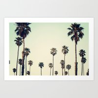 california Art Prints featuring California  by Bree Madden