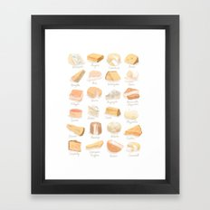 Cheese Revamp Framed Art Print
