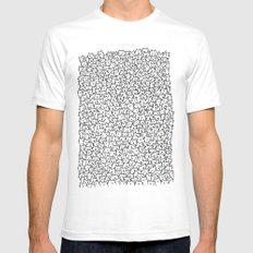 A Lot Of Cats Mens Fitted Tee White SMALL