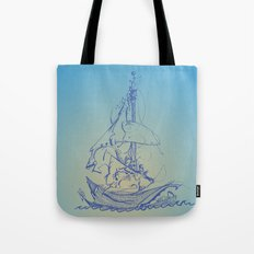 Melo the Explorer, Oct '15 Tote Bag