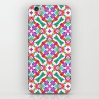Watercolor Boho Dash 2 iPhone & iPod Skin