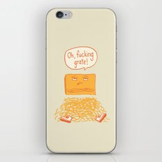 Fucking Grate iPhone & iPod Skin