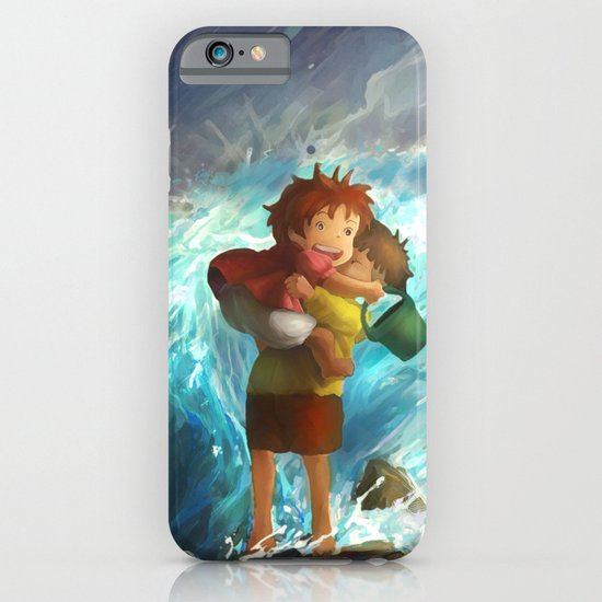 girl in the sea iPhone & iPod Case