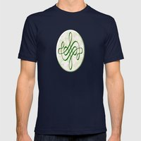 Leah (#TheAccessoriesSer… Mens Fitted Tee Navy SMALL