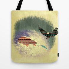 Pattern Survival Tote Bag