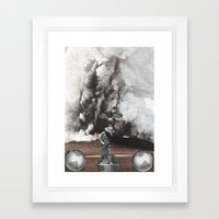 Not From This World Framed Art Print