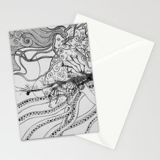 Magic Force / Original A4 Illustration / Pen & Ink Stationery Cards