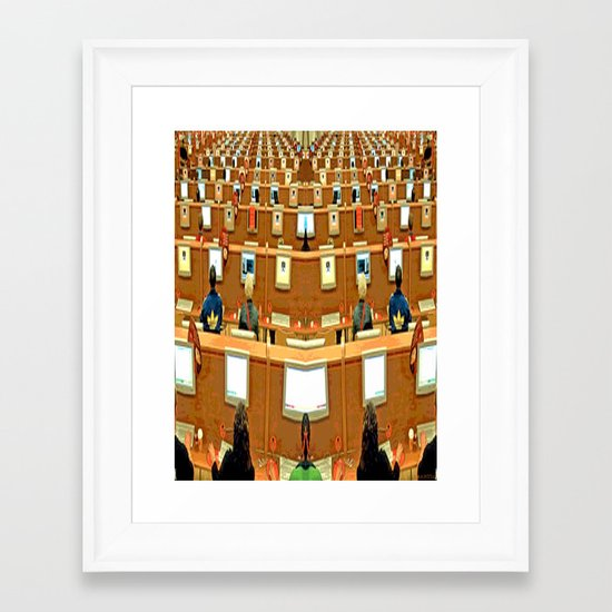 THE TRAP Framed Art Print