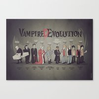 Vampire (D)Evolution Canvas Print