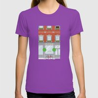 Pinwhistle Way Faccade Womens Fitted Tee Ultraviolet SMALL