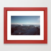 Alps Mountain Germany Color Photography Nature Framed Art Print