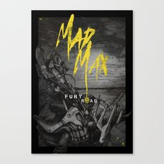 Mad Max :  Fury Road Canvas Print