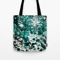 Turquoise Bubbles Photog… Tote Bag