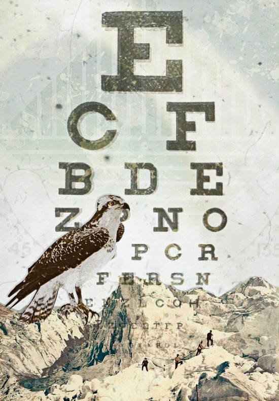 eye chart II Art Print