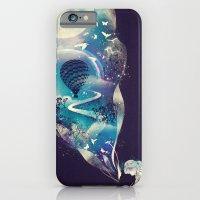 skull iPhone & iPod Cases featuring Dream Big by dan elijah g. fajardo