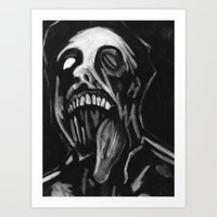 Jawless Art Print