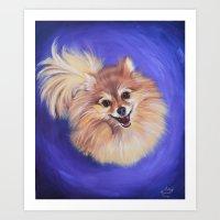 Zooey Art Print