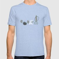 Jeux d'enfants Mens Fitted Tee Tri-Blue SMALL
