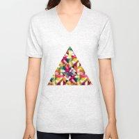 Aztec Geometric VII Unisex V-Neck