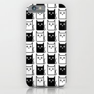 A Chess Of Cats iPhone 6 Slim Case