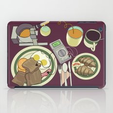 Breakfast, the Most Important Meal of the Day iPad Case