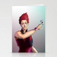 Hisoka - Hunter X Hunter Stationery Cards