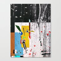 Corridors Canvas Print