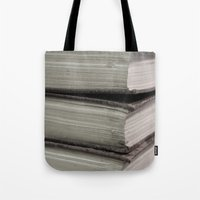Hard Bound Pages  Tote Bag