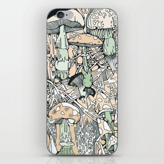 mushaboom iPhone & iPod Skin