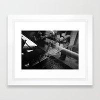 Landschaftspark Framed Art Print