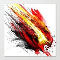 Speed & Velocity Canvas Print