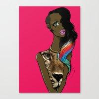 Made In ZA Canvas Print