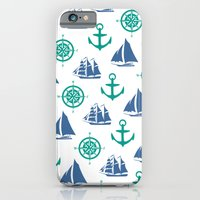 Nautical Pattern iPhone 6 Slim Case