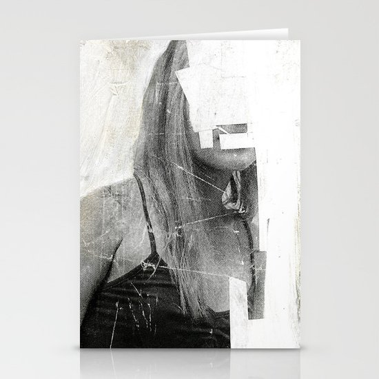 Faceless | number 03 Stationery Card