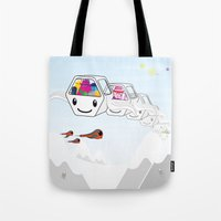 SF Cable Car Tote Bag