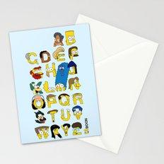Simpsons Alphabet Stationery Cards