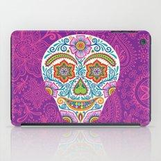 Flower Power Skully iPad Case