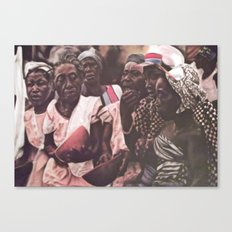 Village Festival Canvas Print