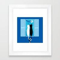 The Lovecats Framed Art Print