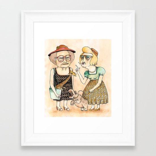 Ladies Framed Art Print