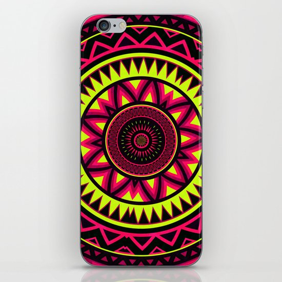 Mandala - Navajo dance iPhone & iPod Skin
