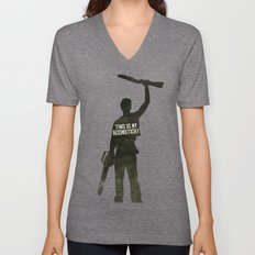 This Is My Boomstick! Mi… Unisex V-Neck