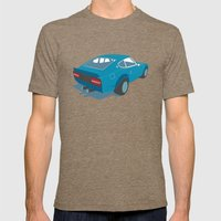 Datsun Z Mens Fitted Tee Tri-Coffee SMALL