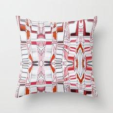 City sketches Throw Pillow