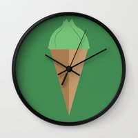 Bulbasaur Cheesecake Wall Clock