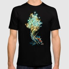 ElectriciTree Mens Fitted Tee Black SMALL
