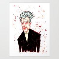 David Lynch Art Print